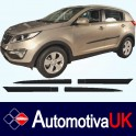 KIA Sportage Mk3 Side Protection Mouldings