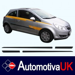 Vauxhall Corsa 3D Side Protection Mouldings