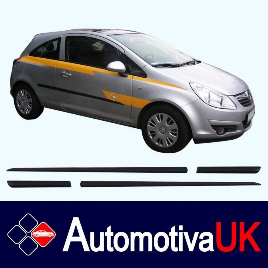 Vauxhall Corsa 3D Side Protection Mouldings ...  sc 1 st  Automotiva UK online shop & Vauxhall Corsa Side Protection Mouldings