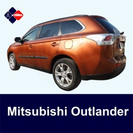 Mitsubishi Outlander Mk3 Side Protection Mouldings (type 2)
