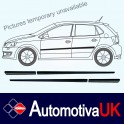 Fiat Punto 5 Door Mk3 Side Protection Mouldings