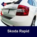 Skoda Rapid Spaceback Estate Rear Bumper Protector