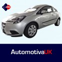 Vauxhall Corsa E 3 Door Side Protection Mouldings