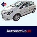 Vauxhall Corsa E 5 Door Side Protection Mouldings