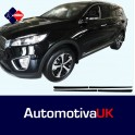 KIA Sorento Mk3 5 Door Side Protection Mouldings