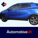 Vauxhall Mokka Door Side Protection Mouldings