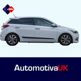 Hyundai i20 5 Door MkII Side Protection Mouldings