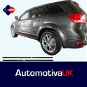 Fiat Freemont Side Protection Mouldings