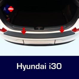 Hyundai i30 Mk3 Hatchback Rear Bumper Protector