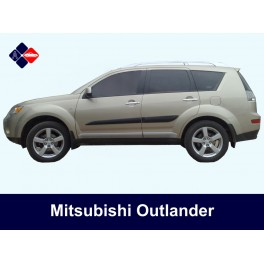 Mitsubishi Outlander Side Protection Mouldings