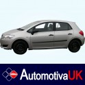 Toyota Auris Mk1 5 Door Side Protection Mouldings