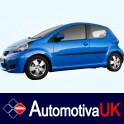 Toyota Aygo 5 Door Side Protection Mouldings