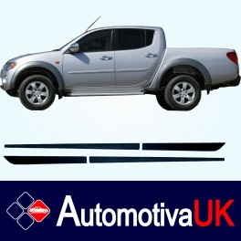 Mitsubishi L200 Side Protection Mouldings