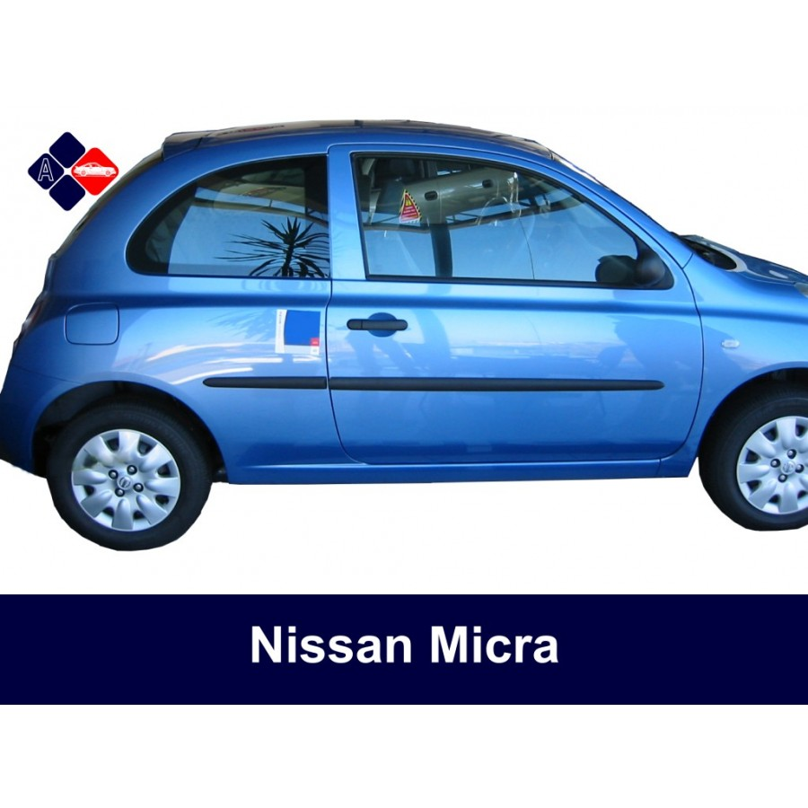 nissan micra side protection mouldings. Black Bedroom Furniture Sets. Home Design Ideas