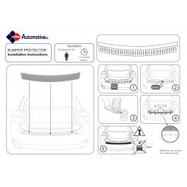 Rear Bumper Protector Installation Instructions