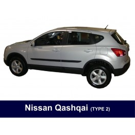 Nissan Qashqai Side Protection Mouldings