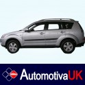 Mitsubishi Outlander Side Protection Mouldings (type 1)