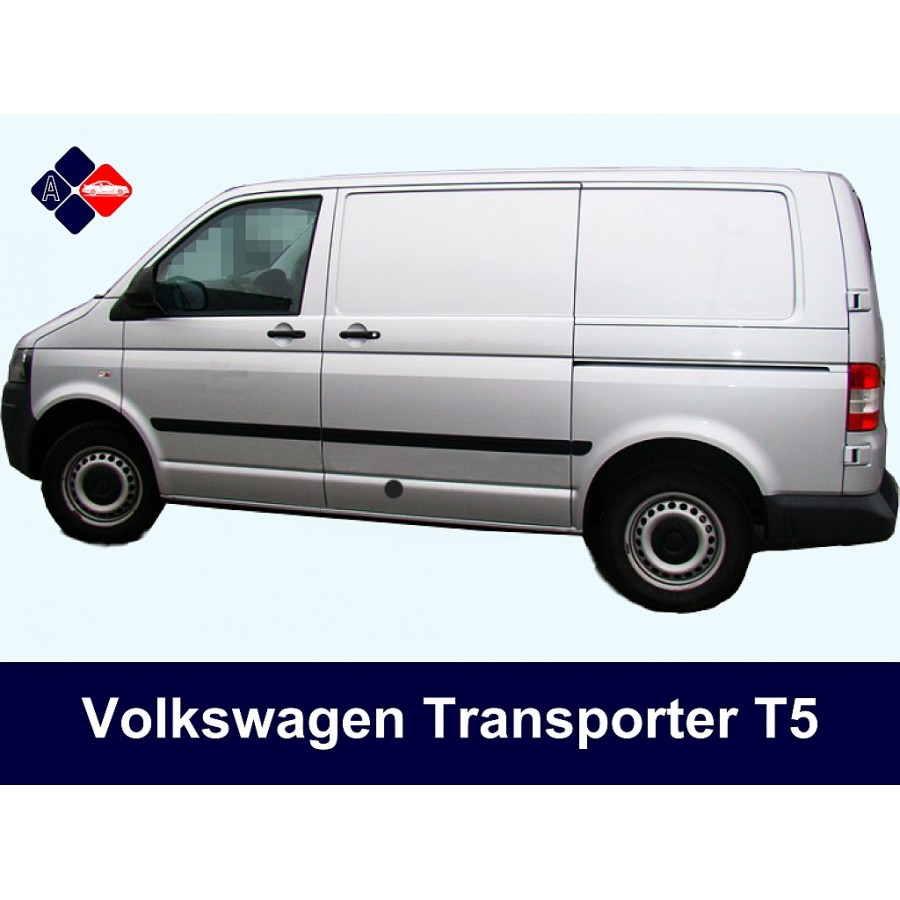 volkswagen transporter side protection mouldings. Black Bedroom Furniture Sets. Home Design Ideas