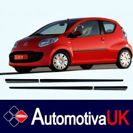 Citroen C1 3 Door Side Protection Mouldings