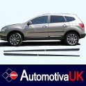 Nissan Qashqai+2 Side Protection Mouldings
