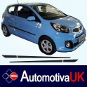 KIA Picanto 3 Door Side Protection Mouldings