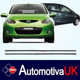 Mazda 2 5 Door Side Protection Mouldings