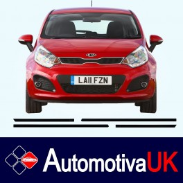 KIA Rio 5 Door Side Protection Mouldings