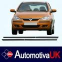 Vauxhall Corsa C 5 Door Side Protection Mouldings
