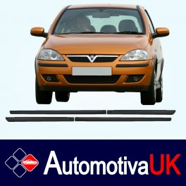 Vauxhall Corsa 5 Door Side Protection Mouldings