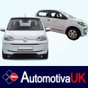 Volkswagen UP 5 Door Side Protection Mouldings