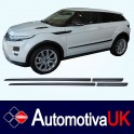 Range Rover Evoque 3 Door Side Protection Mouldings