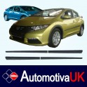 Honda Civic Mk9 5 Door Side Protection Mouldings