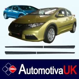 Honda Civic 5 Door Side Protection Mouldings