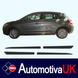 Citroen C4 5 Door Side Protection Mouldings