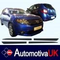 Dacia Sandero Door Protectors/ Side Protection Mouldings