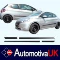 Peugeot 208 3 door Side Protection Mouldings