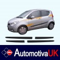 Vauxhall Agila Mk2 Side Protection Mouldings