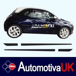 Vauxhall Adam Side Protection Mouldings