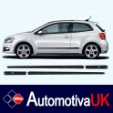 Volkswagen Polo 3 Door Side Protection Mouldings