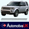 Range Rover Discovery Mk4 Door Side Protection Mouldings