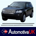 Land Rover Freelander Mk2 Door Side Protection Mouldings