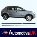 SsangYong Korando Mk3 Side Protection Mouldings