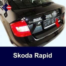 Skoda Rapid Saloon Rear Bumper Protector