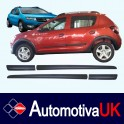Dacia Sandero Stepway Door Protectors/ Side Protection Mouldings