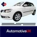 Toyota Corolla Verso 5 Door Side Protection Mouldings