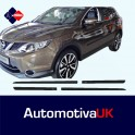 Nissan Qashqai Mk2 Side Protection Mouldings