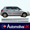 Skoda Fabia Mk2 Door Side Protection Mouldings