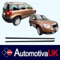Skoda Yeti Mk1 Door Side Protection Mouldings
