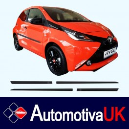 Toyota Aygo Mk2 5 Door Side Protection Mouldings