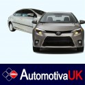 Toyota Corolla Mk11 5 Door Side Protection Mouldings
